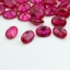factory price oval shaped ruby loose stones sale