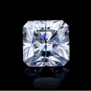 square radiant cut moissanite china wholesale